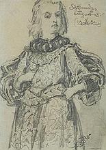 Matejko Jan - SIGISMUND AUGUSTUS , pencil, paper