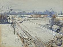 Wyspiański Stanisław - VIEW FROM STUDIO, 1904, pastel,carton