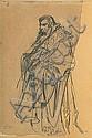 Matejko Jan - DOGE, 1862, pencil,paper, Jan Matejko, Click for value