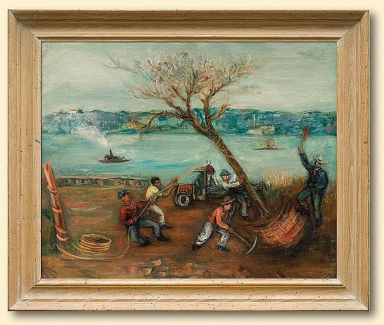 Zucker Jakub (Jacques): Spanish scene: oil,