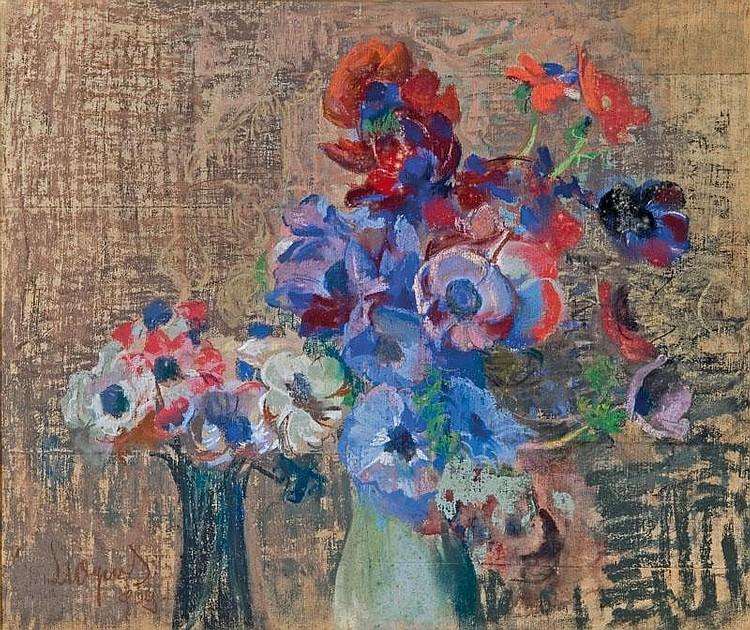 Wyczó ł kowski Leon Wind-Flowers, 1909