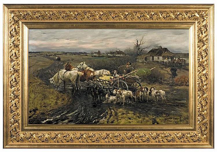 Wierusz-Kowalski Alfred For Hunting, circa 1880