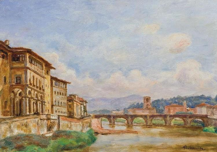 Pankiewicz Józef Ponte Alle Grazie /Florence,