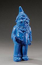 OTTMAR HÖRL (né en 1950) Nain bleu à la main