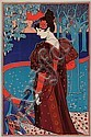 LOUIS JOHN RHEAD (1857-1925)«Femme aux faisans», Louis John Rhead, Click for value