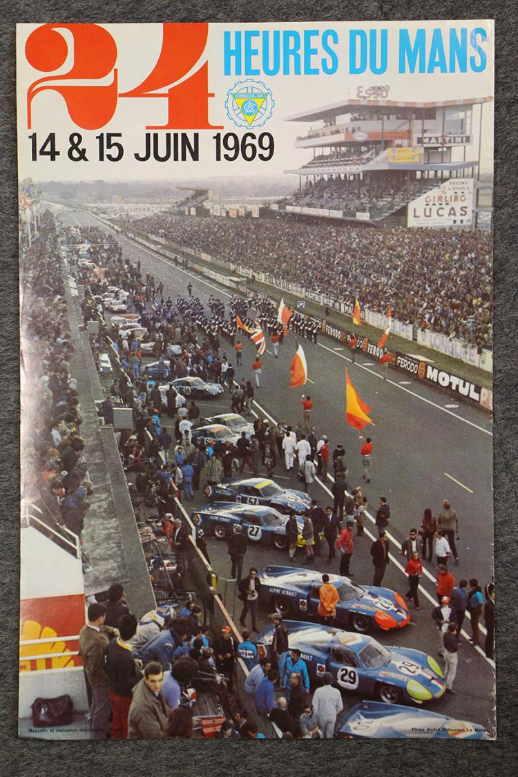 24 heures du mans 1969. Black Bedroom Furniture Sets. Home Design Ideas