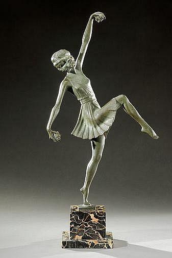 PIERRE LAUREL (XIX-XXème) Epreuve en bronze à