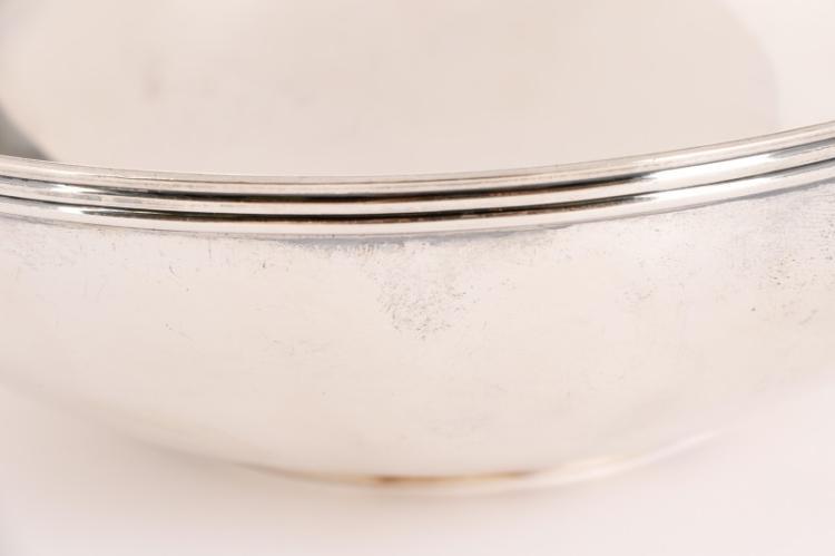 Tiffany Amp Co Sterling Bowl W Elsa Peretti Plate