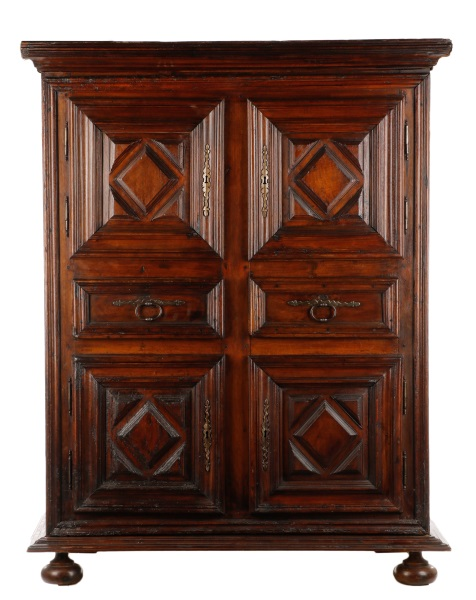 louis xiii style double door homme debout armoire. Black Bedroom Furniture Sets. Home Design Ideas