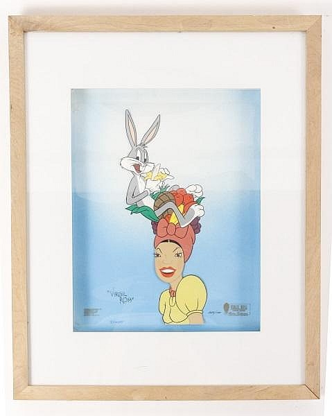 Virgil Ross, Bugs Bunny Animation Cell, Signed