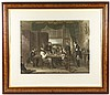 1842 British Colored Engraving,
