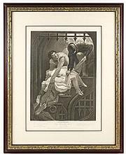 Shakespeare Engraving, King Richard III, 18th C.