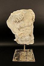 Cast Concrete Sculptural Fragment