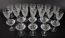 Fostoria Glass America Pattern Stemware