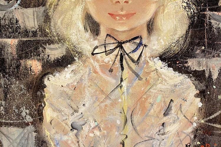 Sold Price: Igor Pantuhoff (RU 1911-1972) Portrait of a