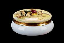 Porcelain Dresser Box after Jean Ernest Aubert