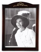 Arnold Sachs, Jacqueline Kennedy Photo, Signed