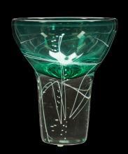 Line Series Art Glass Vase by Mark J. Sudduth
