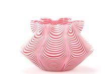 Victorian Nailsea Venetian Thread Glass Bowl
