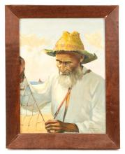 Early 20th C. Regionalist Painting, Signed