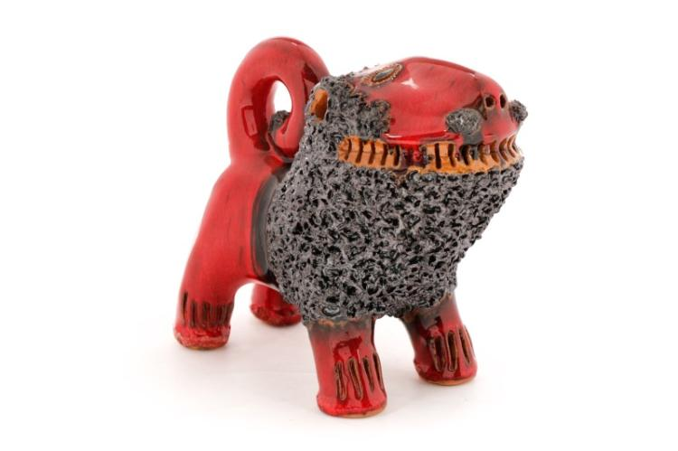 Billy Ray Hussey Standing Chinese Red Lion