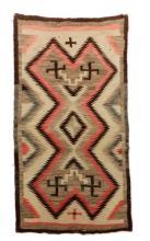 Navajo Regional Whirling Log Weaving/Rug
