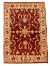 Hand Woven Persian Peshewar Rug, 6' 3