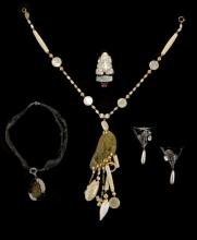 Four Assorted Pieces of Costume Jewelry