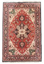 Hand Woven Persian Serapi, 7' 11