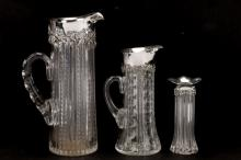3 Gorham Sterling & Cut Glass Table Articles