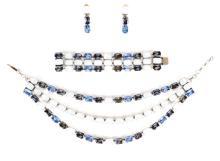 Jean-Louis Blin Bracelet, Necklace & Earrings