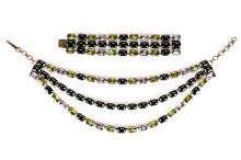Jean-Louis Blin Necklace w/Matching Bracelet