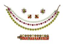Four Pieces Jean-Louis Blin Jewelry