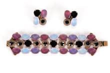 Jean-Louis Blin Paris Bracelet & Earring Set