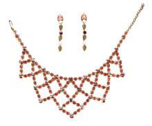 Jean-Louis Blin Paris Clip-on Earrings & Necklace