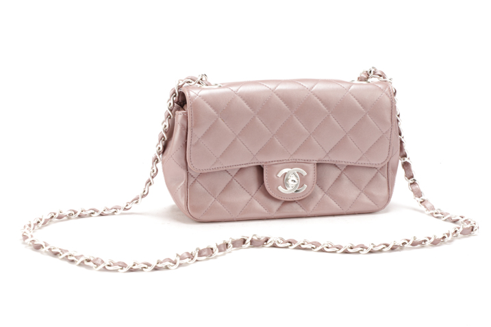 fbc44d3bbbfb Chanel Mauve Quilted Mini Classic Flap Bag