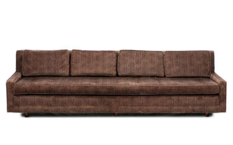 Mid Century Modern Ribbed Velvet Sofa : H5512 L86296615 from www.invaluable.com size 750 x 467 jpeg 28kB