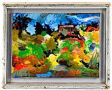 Leonard Maurer, Landscape Painting-1965