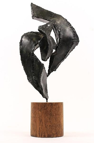 Julie Warren Martin, Early Iron Abstract Sculpture