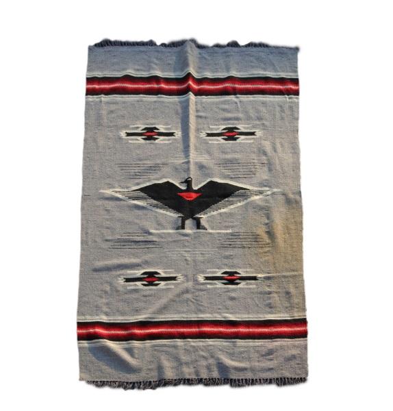 Chimayo Pictorial Wool Blanket, Rug Or Tapestry