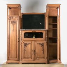 Majorelle Style Large Art Nouveau Period Sideboard