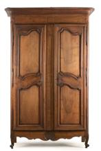 18th/19th C. French Inlaid Armoire