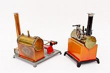 Two Weeden Manufacturing Steam Engines