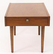 American Mid Century Modern Walnut Side Table