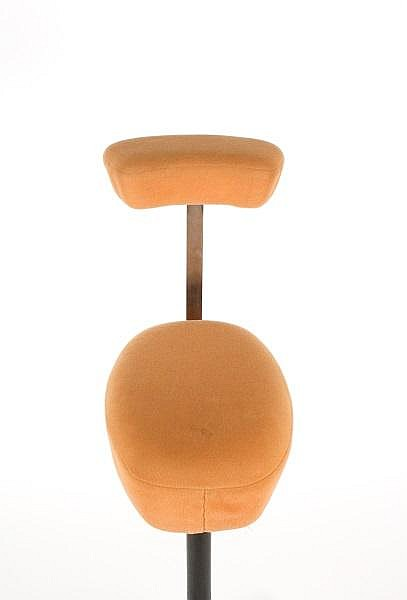 Perch Stool Quot By Herman Miller Peach Upholstery