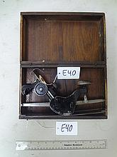 #113 Flexible Sole Plane in Wooden Box: Type 1 or 2, Prelateral (Good)