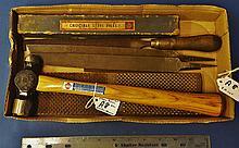 Blue Grass Lot, 3 rasps, 3 files, 12oz. Ball peen hammer