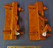 Pair of Hall Case and Co. tongue and groove planes, Columbus, Ohio