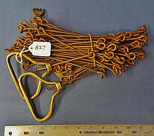 Brass appointed Surveryors chain, Nice, Not a common thing