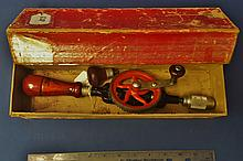 Millers Falls #5A Hand Drill in original Box